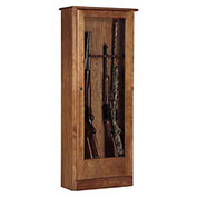 American Furniture Classics Gun Storage Cabinet, 10 Long Guns, Wood