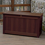 "Highwood® Deck & Patio Storage Box, 44""L x 24-15/16""W x 25-13/16""H, Acorn"