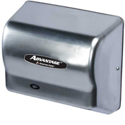 American Dryer Advantage Series Hand Dryer W/ Universal Voltage, AD90-SS, Stainless Steel