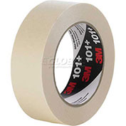 Masking Tape, 12mm x 55m, 5.1 Mil, Tan - Pkg Qty 72