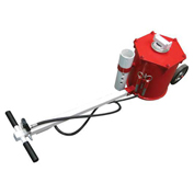 "Sunex Tools 10 Ton Portable Air Lift Jack, 8"" Wheels, T-Handle"
