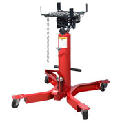 Sunex Tools 1/2 Ton lb Telescopic Transmission Jack, Universal Saddle, Foot Activated