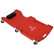 "6 Caster Plastic Creeper, 8511, 40"" Long Frame, 1"" Profile, Red"