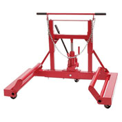 Sunex Tools 1500 lb. Hydraulic Wheel Dolly, Tilting Frame, Ball Bearing Casters