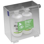 "Horizon Mfg. Double Bottle Eyewash Station, 5-1/2""L X 10""W X 10""H, 5182"