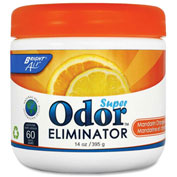Bright Air Super Odor Eliminator Orange & Lemon 14 oz. Container