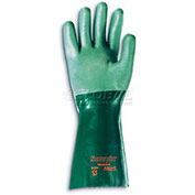 "Ansell Scorpio® Chemical Resistant Gloves,14""L, Gauntlet Cuff, Size 8, 1 Pair"