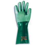 "Scorpio® Chemical Resistant Gloves, 14""L, Gauntlet Cuff, Large, 1 Pair"