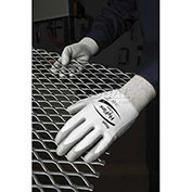 Ansell HyFlex® Cut Protection Gloves, Gray Polyurethane Palm Coat, Size 7, 1 Pair