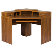American Furniture Classics Corner Desk W/Monitor Platform