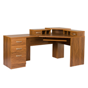 American Furniture Classics Reversible Corner Workcenter