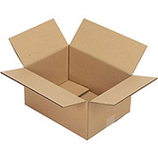 "Corrugated Boxes, 12"" x 9"" x 6"", Single Wall, 25 Pack"
