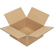 "Corrugated Boxes, 12"" x 12"" x 6"", Single Wall, 25 Pack"