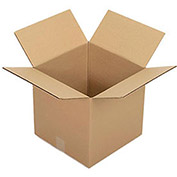 "Corrugated Boxes, 12"" x 12"" x 12"", Single Wall, 25 Pack"