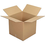 "Corrugated Boxes, 20"" x 20"" x 20"", Single Wall, 25 Pack"