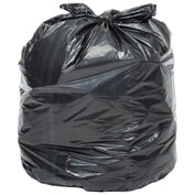 2X Heavy Duty Trash Bags, 55 Gallon, 1.7 Mil, 100/Case
