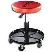 Pneumatic Chair, Black/Red