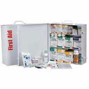 First Aid Only 247-OP Industrial First Aid Station for 100 People, OSHA, Metal Case, 1041 Pieces