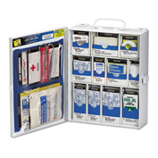 136 Piece Metal First Aid Kit, Metal Detectable, OSHA Compliant
