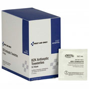 First Aid Only7 Antiseptic Cleansing Wipes, H-30, 50/Box