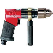 "Chicago Pneumatic  CP9789 1/2"" Reversible Pistol Drill,, 0.37 HP, 1/2"" Chuck"