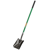 "Ames® True Temper ® Square Point Shovel w/ 47"" Fiberglass Handle 2433100"