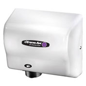 American Dryer ExtremeAir High Speed Hand Dryer W/ Germ Killing Technology, CPC9, White ABS