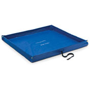 "DQE Flexible Containment Pool, Blue, 30""L x 30""W x 4""H"