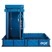 DQE Standard Decon Shower System - Steel Pool