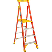 Werner PD6204 4' Type 1A Fiberglass Podium Ladder