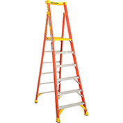 Werner PD6206 6' Type 1A Fiberglass Podium Ladder