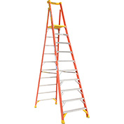 Werner PD6210 10' Type 1A Fiberglass Podium Ladder