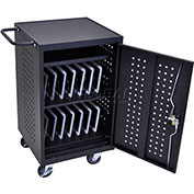 iPad™ and Tablet Charging Cart for 30 Devices