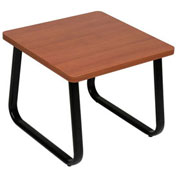 "Square Coffee Table, Cherry Top, 20"" x 20"""