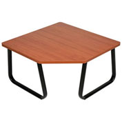 "Corner Coffee Table, Cherry Top, 29-1/2"" x 29-1/2"""