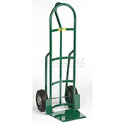 "Shovel Nose Hand Truck, Loop Handle, 10"" Flat Free Wheels"