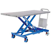 Vestil CART-1000-LD 63 x 31 Hydraulic Elevating Cart, 1000 Lb. Cap.""
