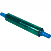 """Goodwrappers Stretch Wrap, 20"""" x 1000' x 80 Gauge with Dispenser, Green"""