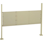 "18""W and 36""W Pegboard Mounting Kit for 60""W Workbench -Tan"