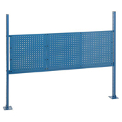 "18""W and 36""W Pegboard Mounting Kit for 60""W Workbench -Blue"
