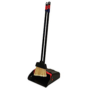 MaxiPlus® Lobby Dust Pan w/Lobby Broom