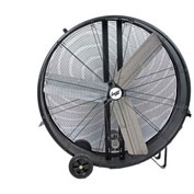 "Comfort Zone® Industrial Drum Fan 42"" 3 Speeds; High Velocity"