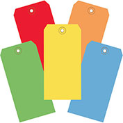 "6-1/4""x3-1/8"" Tyvek Shipping Tags, Assorted Color, 1000 Pack"