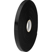 "Double Sided Polyethylene Foam Tape, 3/4"" x 36 Yds, Black"