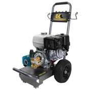 BE Pressure 4000 PSI Pressure Washer - 13HP, Honda GX Pull Start Engine, Cat Pump, B4013HJ