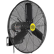 "Outdoor Oscillating Wall Mounted Fan, 24"" Diameter, 3/10HP, 7700CFM"