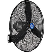 "Outdoor Oscillating Wall Mounted Fan, 30"" Diameter, 3/10HP, 8400CFM"