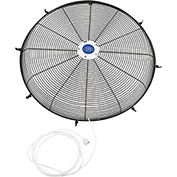 "Misting Front Fan Grille For 24"" Pedestal and Wall Mounted Fan"