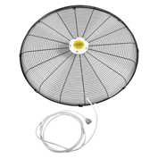 "Front Fan Grille With Misting Feature For 30"" Fan (Pedestal and Wall)"
