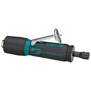 "Dynabrade 0.4HP Straight-Line Die Grinder, 35,000 RPM, Gearless, Rear Exhaust, 1/4""/6MM Collets"